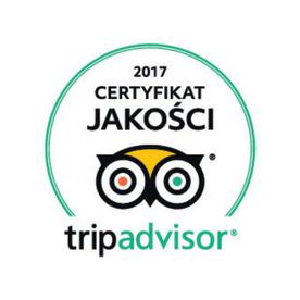 Trip Advisor 2017 Osteria