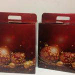 Świąteczne kartony prezentowe w Osteria le botti