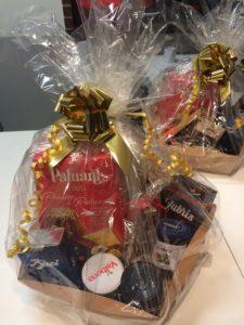 kosz świątecznych produktów na prezent dla bliskich i pracowników Osteria le botti Tychy