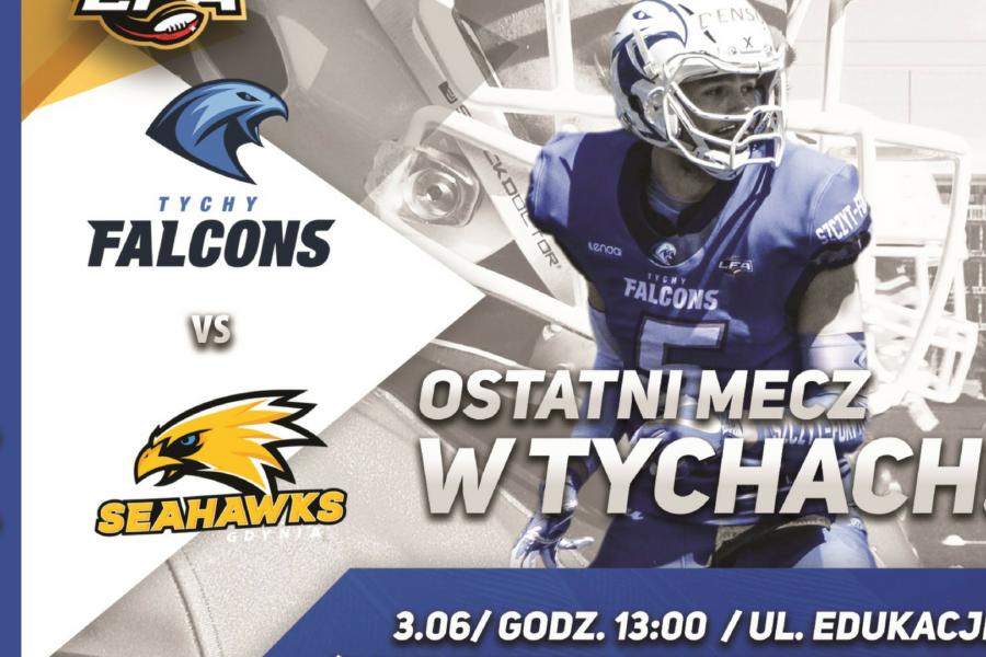 Tychy Falcons vs Seahawks Gdynia ostatni mecz w Tychach