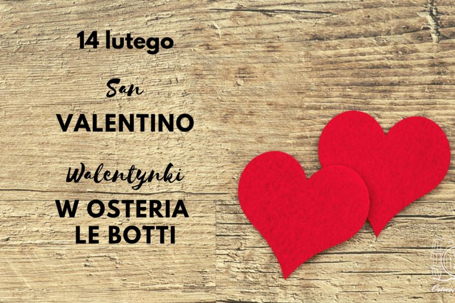 Walentynki 2019 Osteria le botti